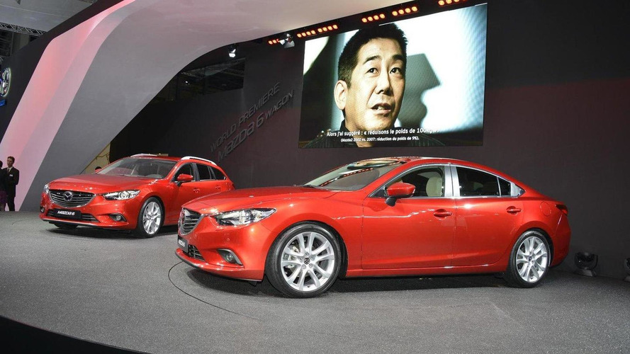 2013 Mazda6 saloon and estate to begin from 19,595 pounds (UK)