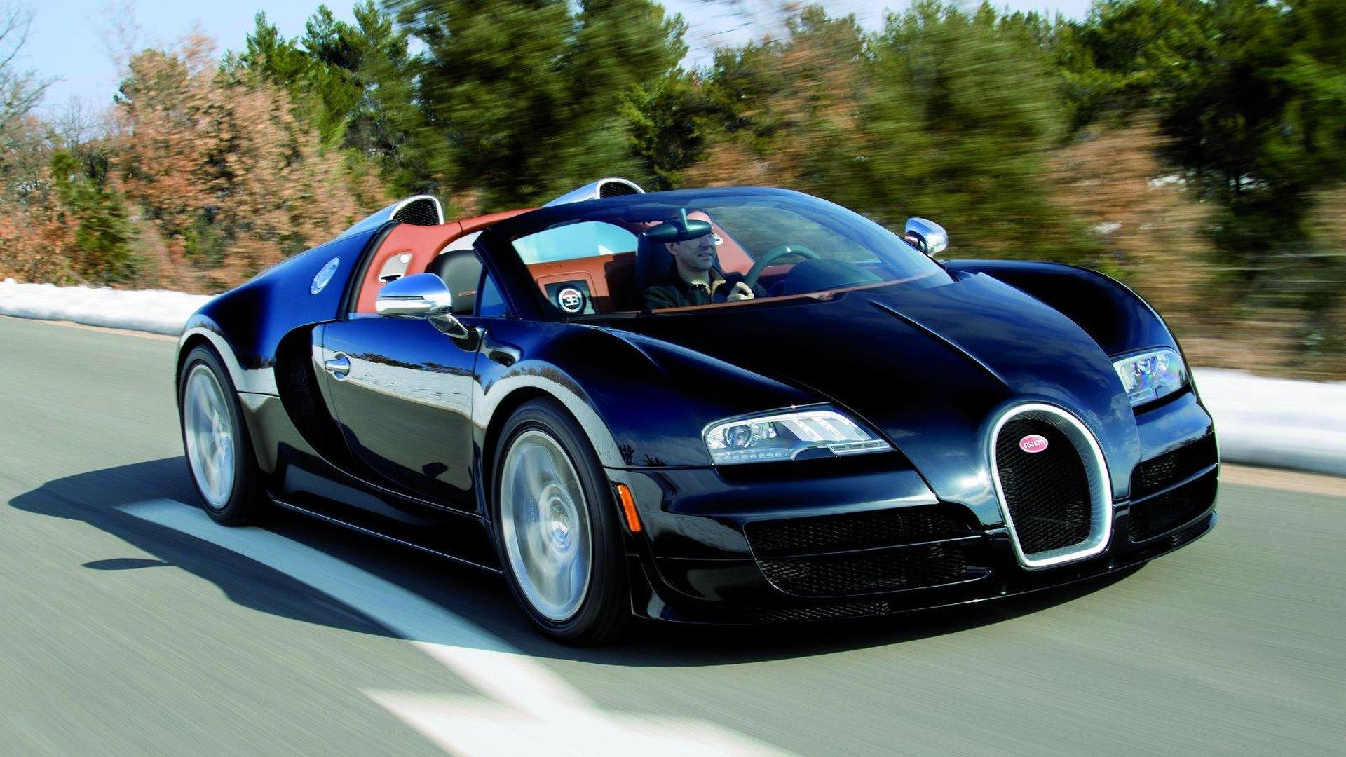 Watch The Bugatti Veyron 16 4 Grand Sport Vitesse In Action Video