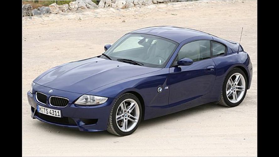 Helm auf zum Gebet: BMW Z4 M Coupé im Test