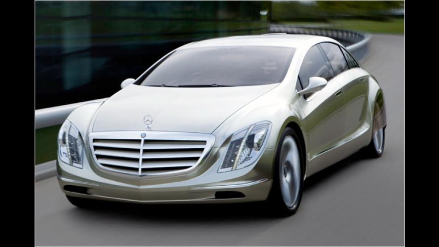 Mercedes zeigt mit dem F 700 die Zukunft der Reiselimousine