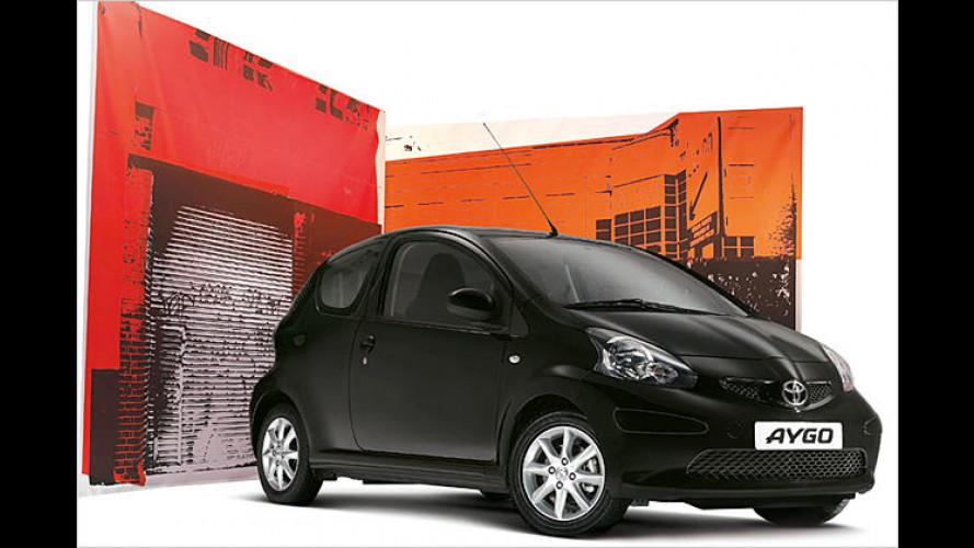 Schwarz wie Kaffee: Sondermodell Toyota Aygo Black