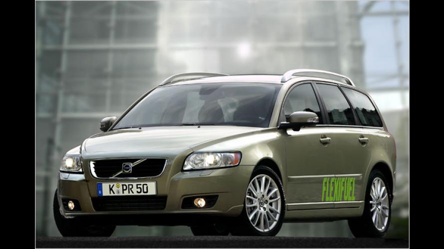 Volvo setzt bei drei Modellen auf MultiFuel-Technologie