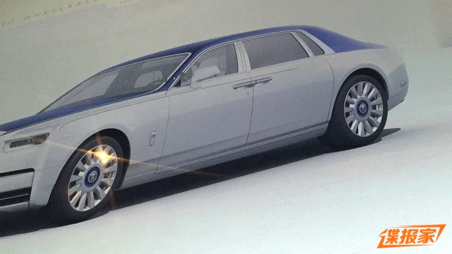 2018 Rolls-Royce Phantom leaked brochure images