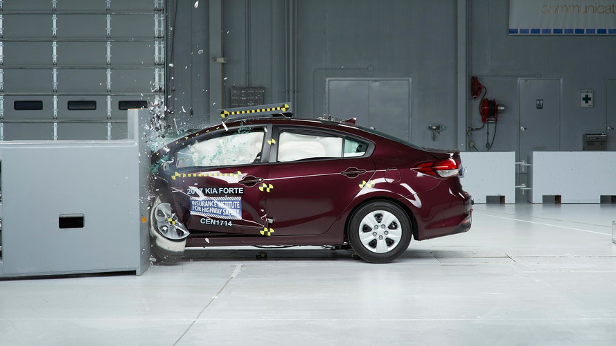 Stronger 2017 Kia Forte Earns IIHS Top Safety Pick+ Award