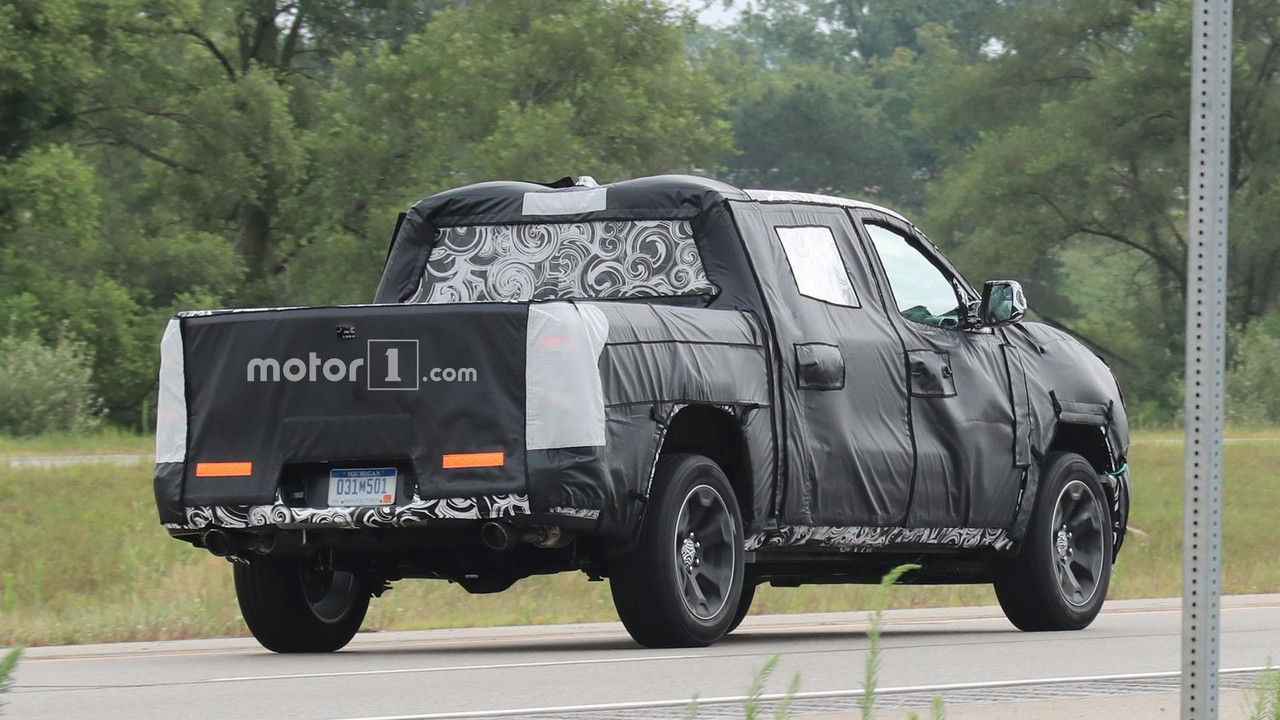 2019 Ram 1500 Steel Body Spy Photos