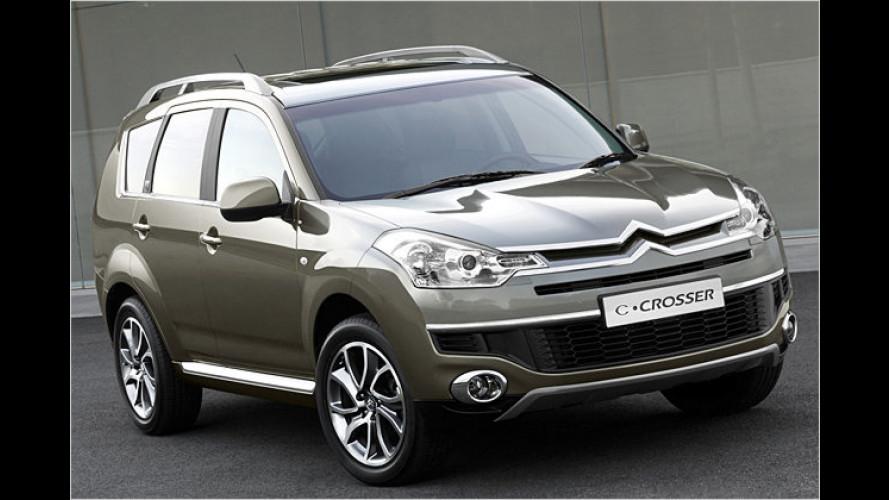 Citroën C-Crosser: Allrad-SUV kommt 2007