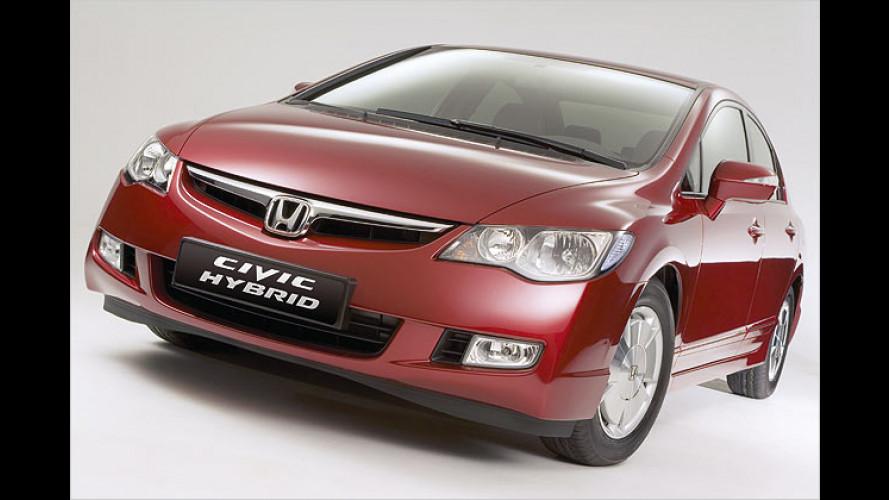 Neu vorgestellt: Honda Civic Hybrid in zweiter Generation