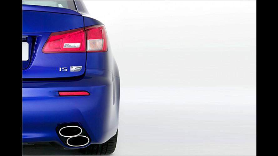Lexus-Sportwagenpremiere: IS-F mit V8-Triebwerk