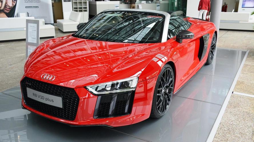 Audi R8 Spyder V10 Plus resmen tanıtıldı