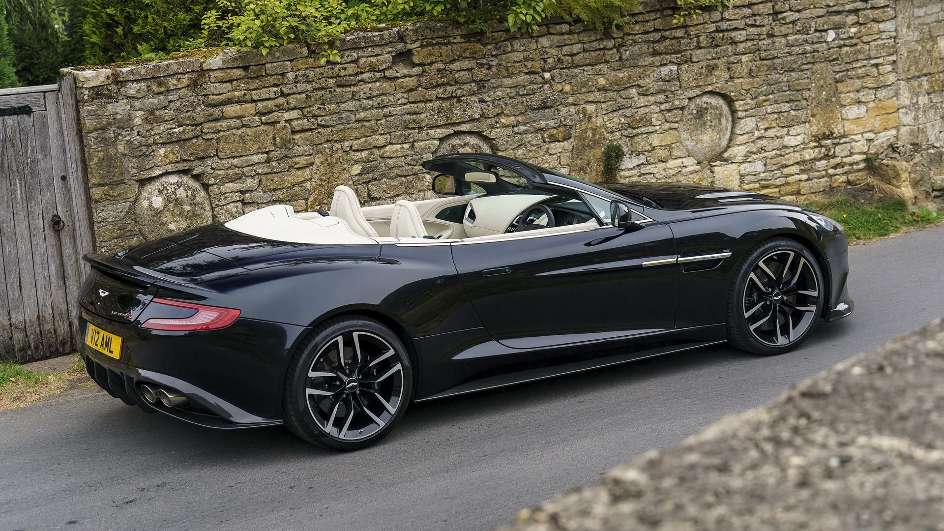 Aston Martin Vanquish S Volante First Drive The Final Encore - Old aston martin vanquish