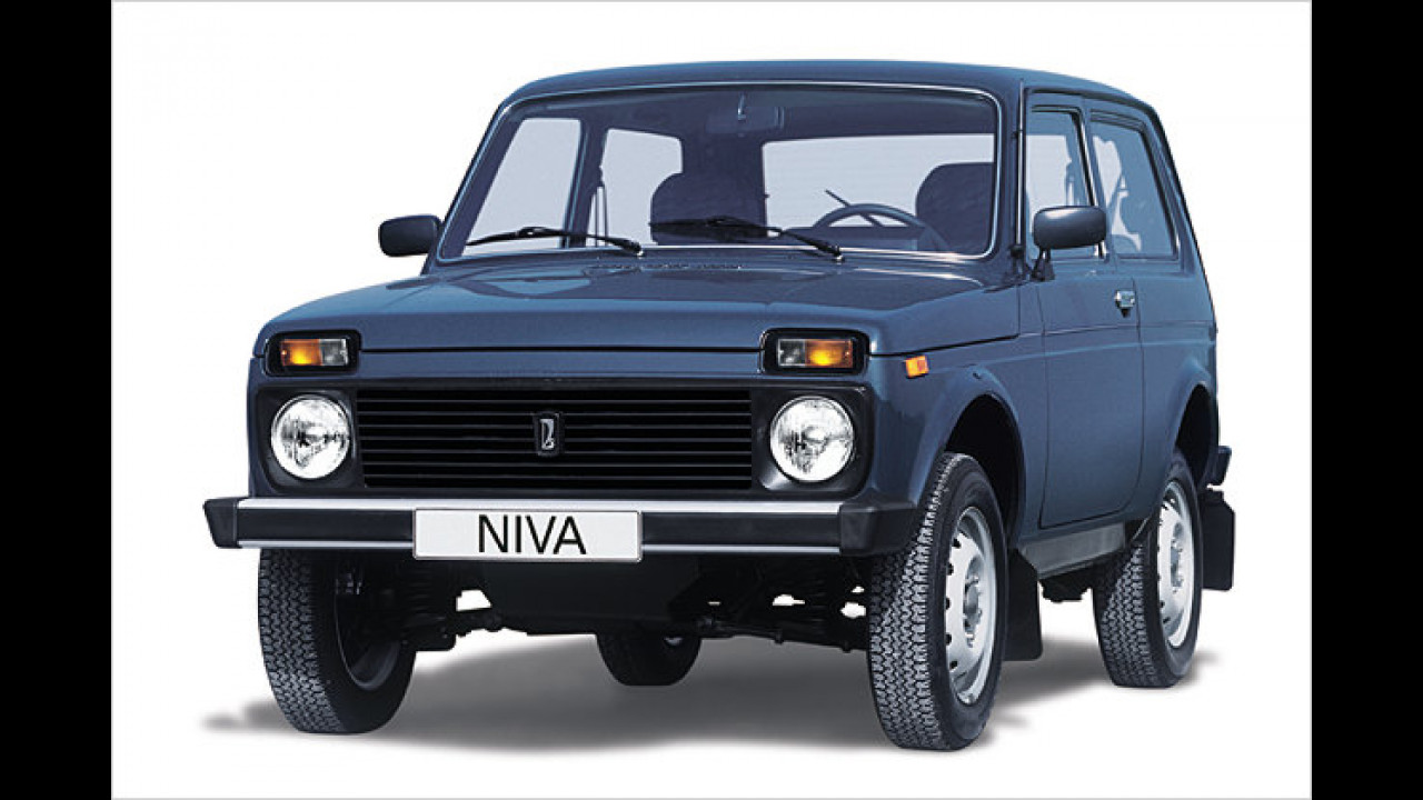 Lada Niva 30 Jahre
