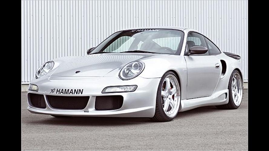 Neues Gesicht: Hamann liftet den Porsche 996 auf 997-Optik