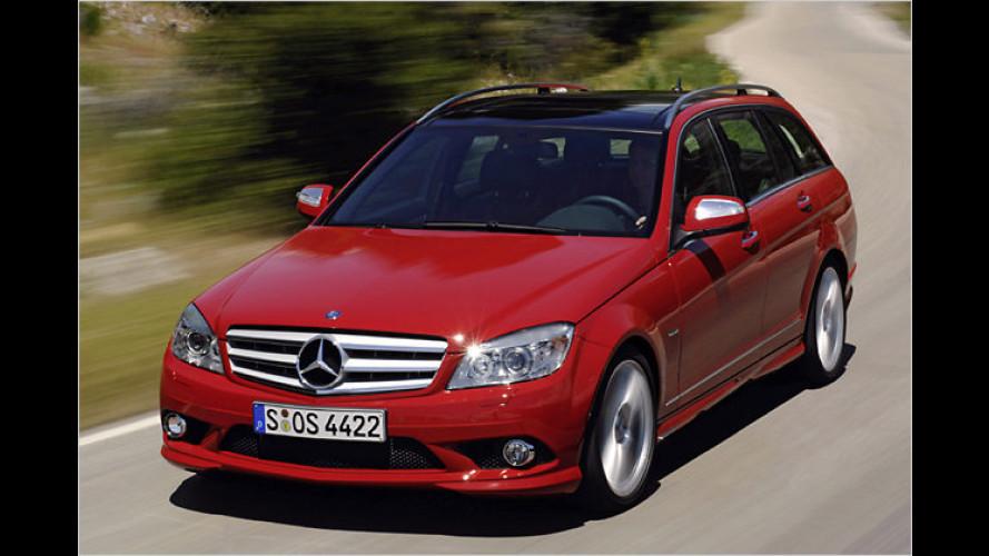 Bereit zum Beladen: Das neue Mercedes C-Klasse T-Modell