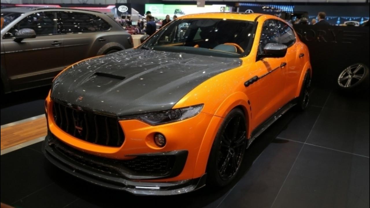 [Copertina] - Maserati Levante, più esagerata che mai grazie al tuning