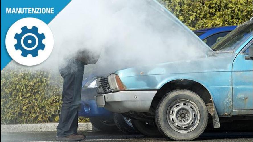 L'auto perde refrigerante? Ecco cosa fare