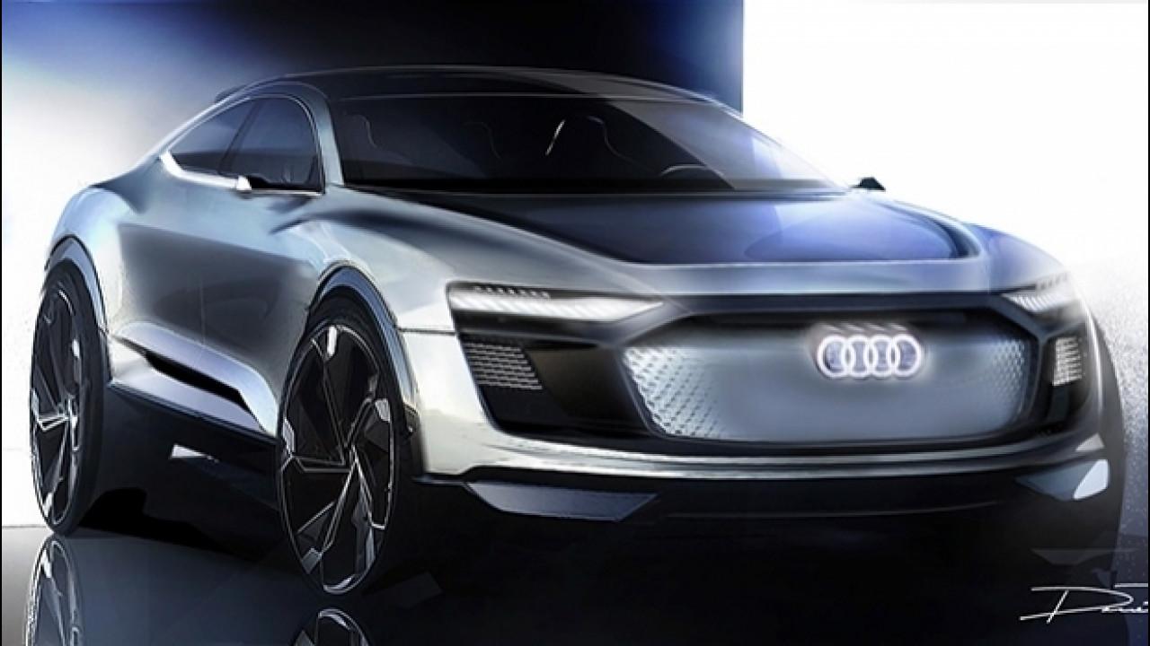 [Copertina] - Audi e-tron Sportback concept, il futuro è a Shanghai
