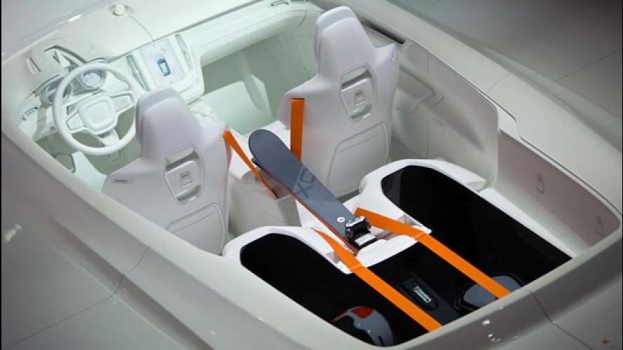Volvo XC Coupé: svelati i segreti degli interni