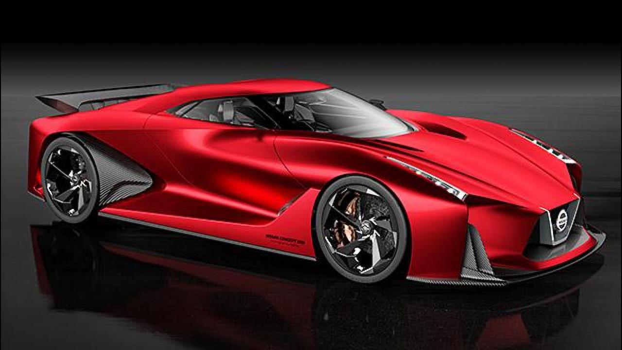 [Copertina] - Nissan Concept 2020 Vision Gran Turismo, evoluzione rossa
