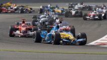 Renault F1, le foto storiche