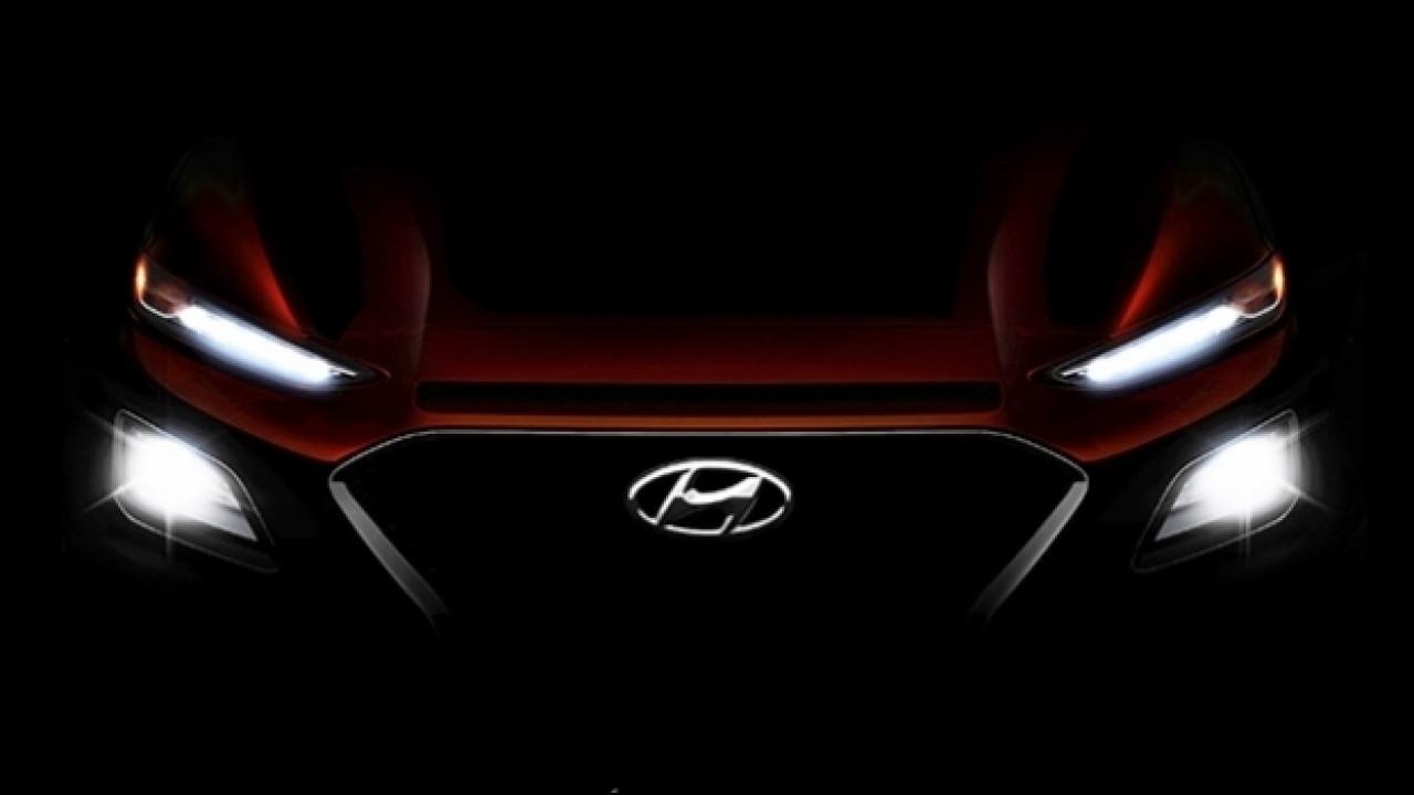 [Copertina] - Hyundai Kona, il secondo teaser mostra i fari a LED
