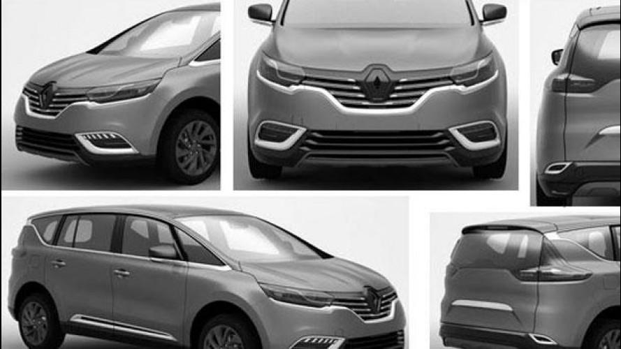 Nuova Renault Espace, le prime immagini