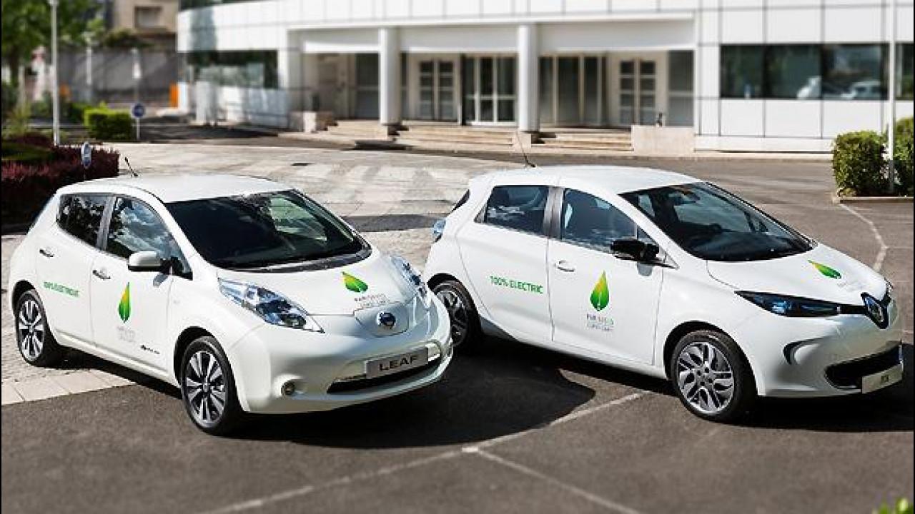 [Copertina] - Conferenza sul clima di Parigi, le auto ufficiali sono le elettriche Renault-Nissan