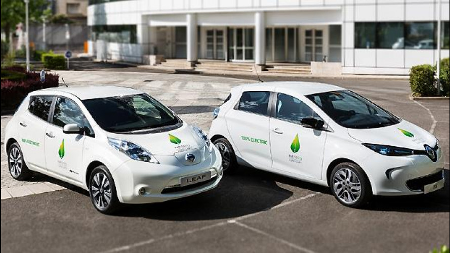 Conferenza sul clima di Parigi, le auto ufficiali sono le elettriche Renault-Nissan