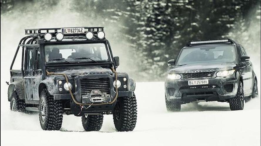 Spectre, il dietro le quinte con le Land Rover [VIDEO]