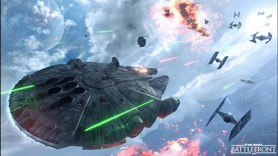 Star Wars Battlefront per combattere l'epica battaglia che precede Il Risveglio della Forza