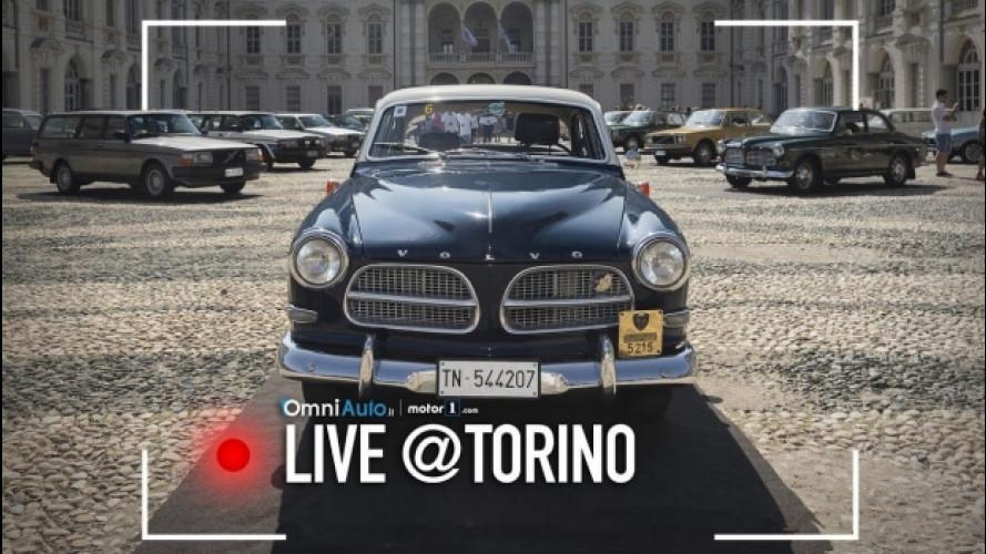 Volvo festeggia i 90 anni a Parco Valentino [VIDEO]