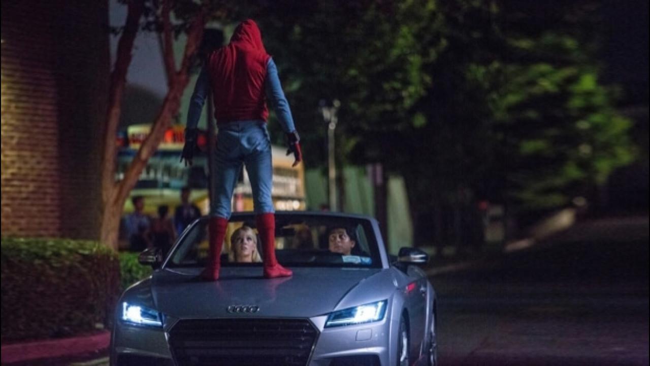 [Copertina] - Nuova Audi A8, anteprima in Spider-Man: Homecoming