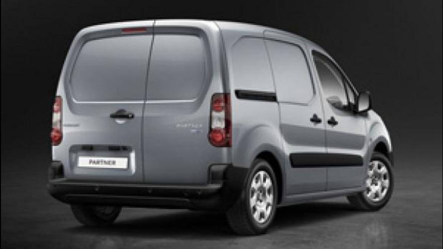 Peugeot rinnova il Partner puntando sui motori