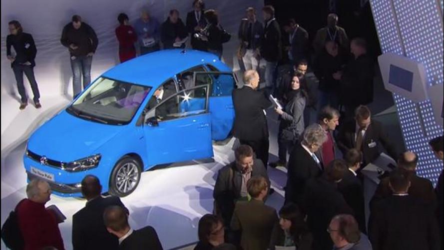 La Volkswagen Polo vista dal vivo