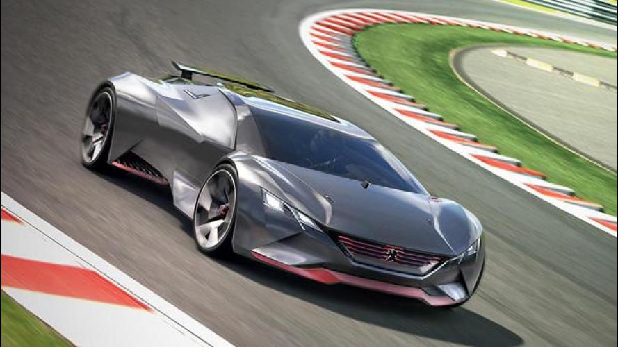 Peugeot Vision Gran Turismo, estrema è dir poco