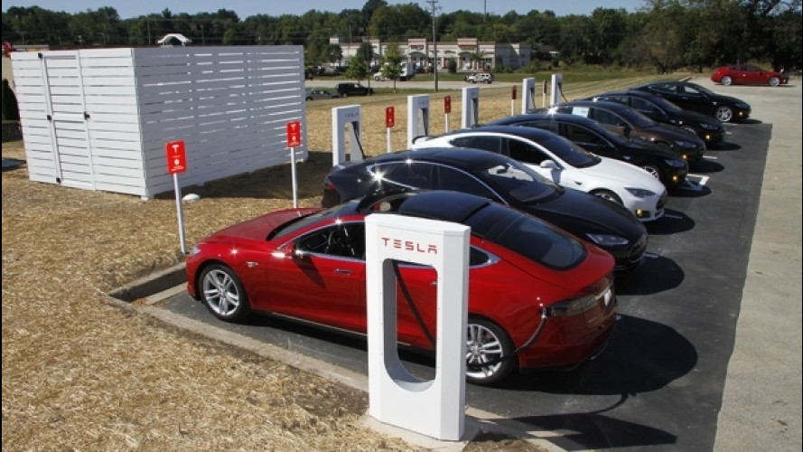 Tesla, 9 stazioni Supercharger in Italia entro fine 2017