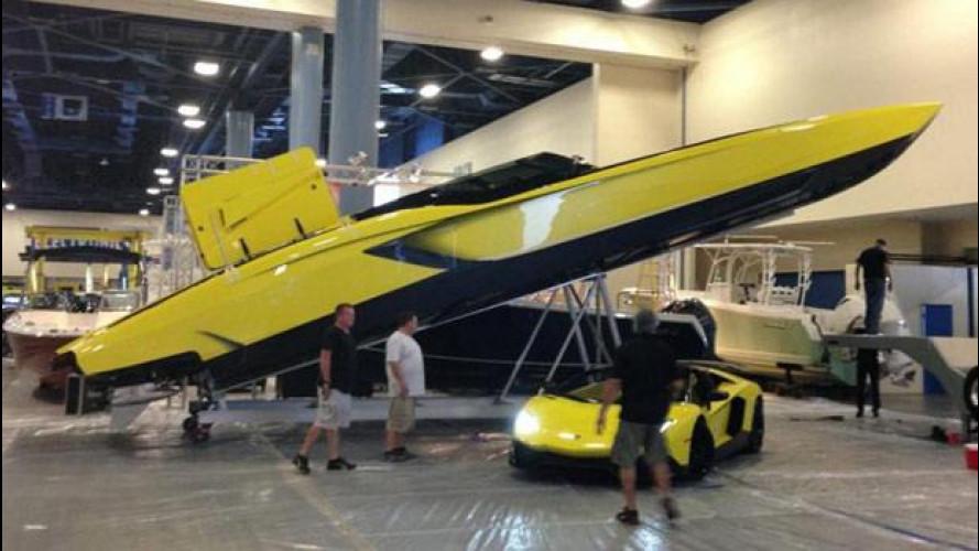 Aventaboat: quando la Aventador diventa una barca