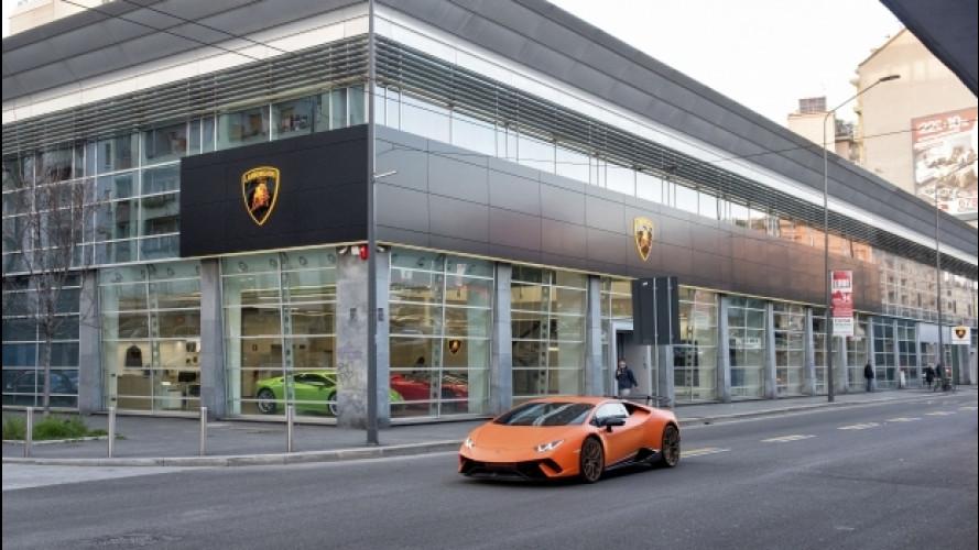 Lamborghini rafforza la sua presenza in Italia