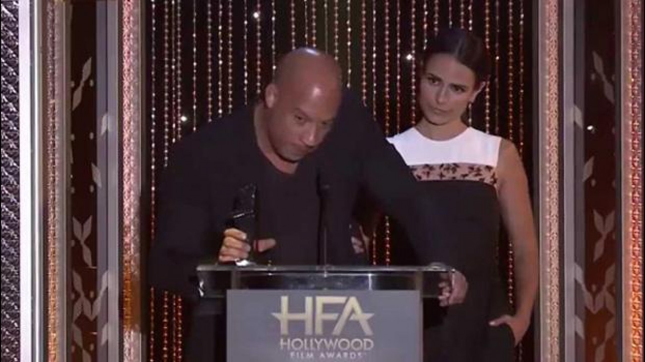 [Copertina] - Fast and Furious 7 vince l'Hollywood Blockbuster Award [VIDEO]