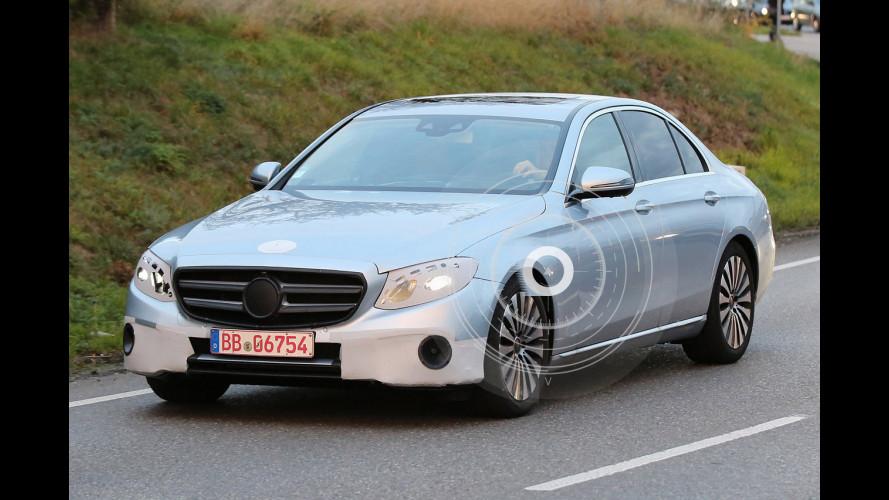 Nuova Mercedes Classe E, le foto spia