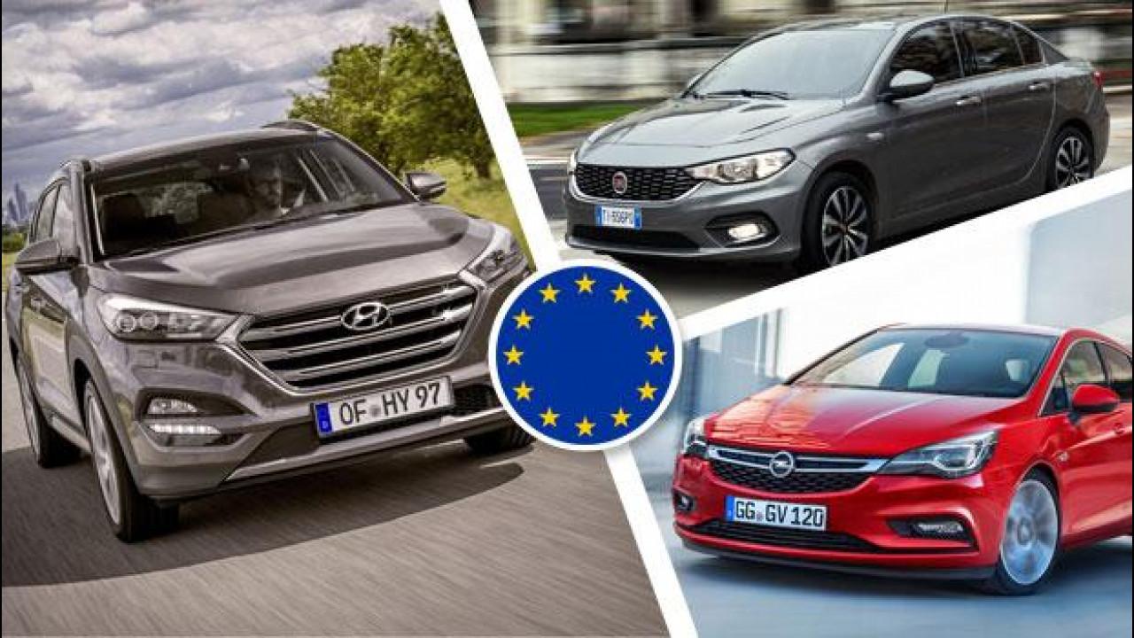 [Copertina] - Le auto che crescono di più in Europa