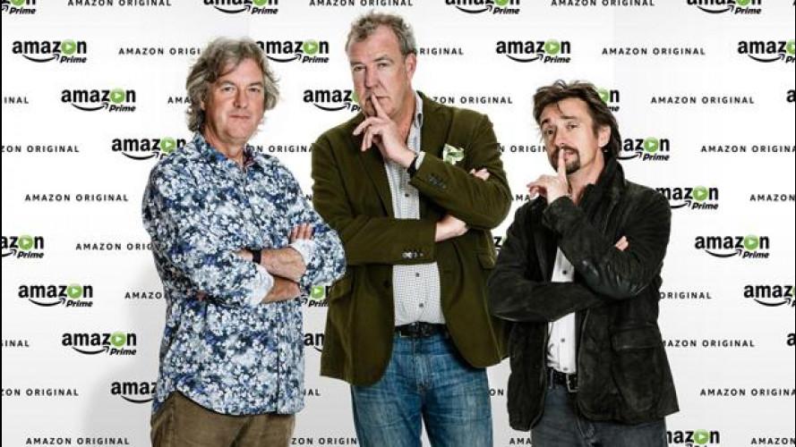 Amazon Video ha pagato 250 milioni di dollari per il trio di Clarkson