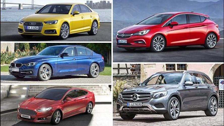 Auto nuove e restyling 2015: chi ha lavorato di più?
