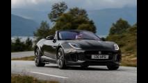 Jaguar F-Type 2.0, convertita al quattro cilindri turbo