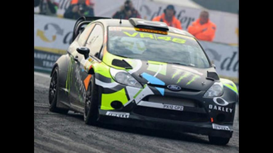 Valentino Rossi al Monza Rally Show 2013