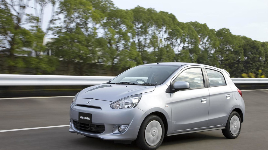 Mitsubishi Mirage gets detailed