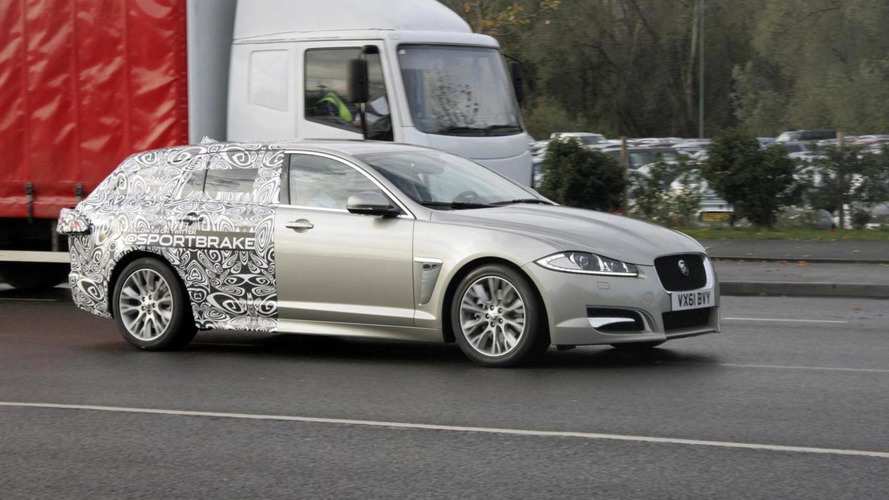 Jaguar XF Sportbrake spy photos released.... By Jaguar