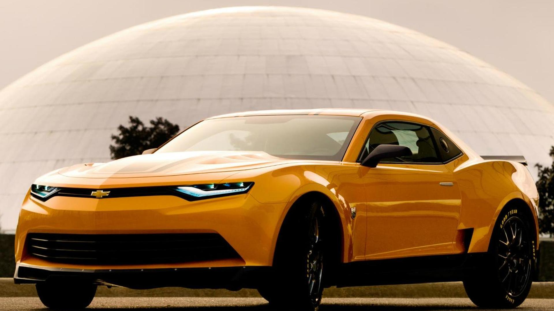 Chevrolet Highlights The Camaro In Transformers Age Of Extinction