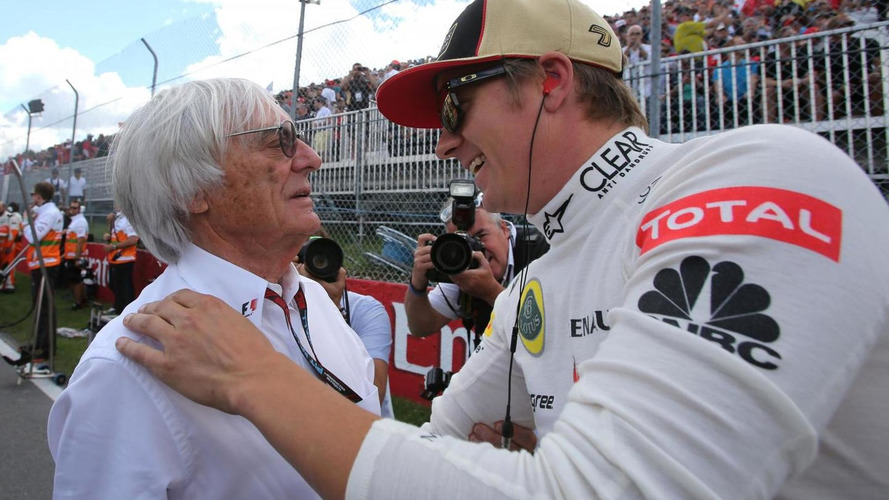 Ecclestone backs Raikkonen over strike threat