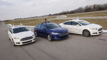 Ford Fusion Hybrid automated research vehicle 12.12.2013