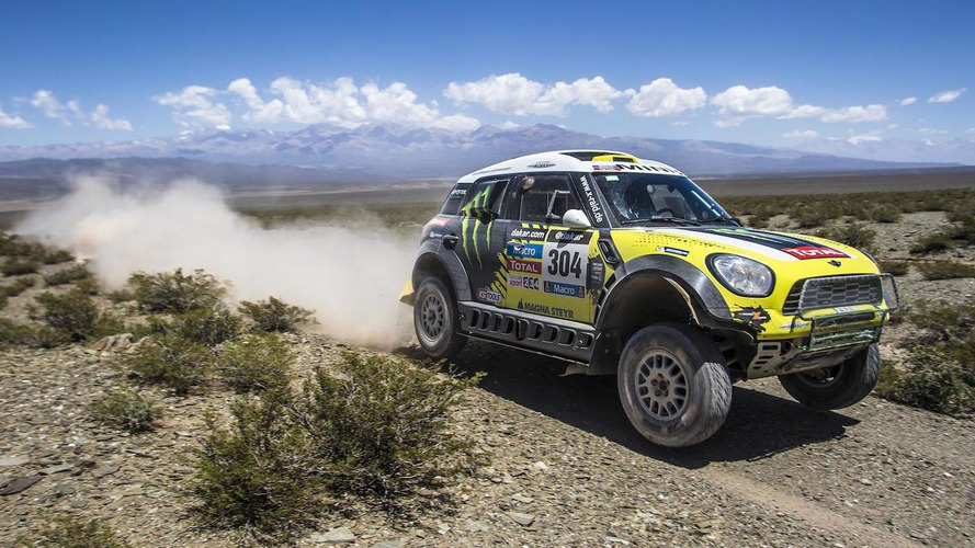"MINI sweeps the Dakar Rally, Joan ""Nani"" Roma comes in first"